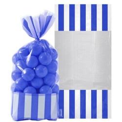 Royal Blue Cello Sweet Bags - 27cm