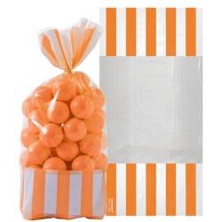 Orange Peel Cello Sweet Bags - 27cm