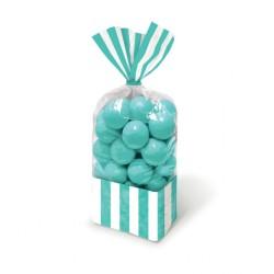 Robin Egg Blue Cello Sweet Bags - 27cm