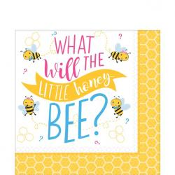 What Will It Be Paper Napkins - 33cm (16pk)