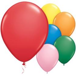 """Standard Balloons Assortment - 11"""" Latex (100pk)"""