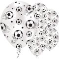 Football Print Balloons - 11'' Latex (6pk)