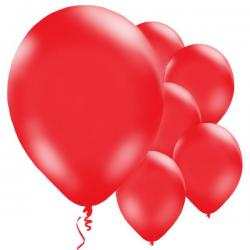 Red Balloons - 11'' Latex (10pk)
