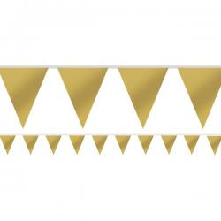 Gold Paper Bunting - 4.5m (each)