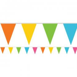 Multicoloured Paper Bunting - 4.5m (each)
