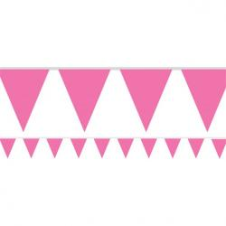 Hot Pink Paper Bunting - 4.5m (each)