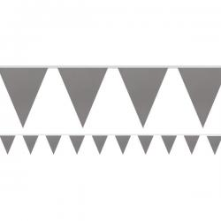 Silver Paper Bunting - 4.5m (each)