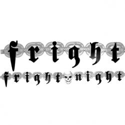 Fright Night Letter Banners 2.1m