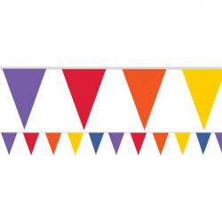 Rainbow Paper Bunting - 4.5m (each)