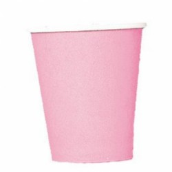 New Pink Paper Cups - 266ml (20pk)