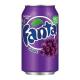Fanta Grape Soda Can  Single
