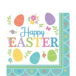 Lovely Easter Napkins - 2ply Paper - 33cm (16pk)