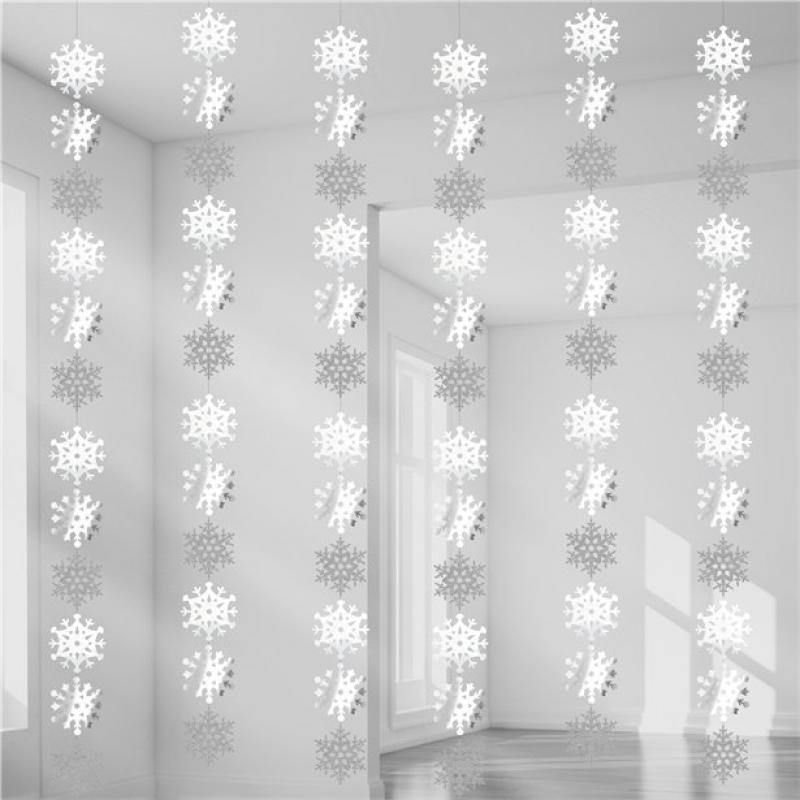 Snowflake Hanging String Decoration Party Decorations