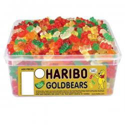 Haribo Gold Bears (960g Sweet Tub)