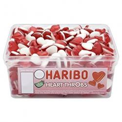 Haribo Red Throb Hearts (960g Sweet Tub)