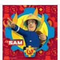 Fireman Sam - 33cm Paper Luncheon Napkins (16pk)