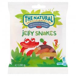 The Natural Confectionery Co. Jelly Snakes Bag (130g)