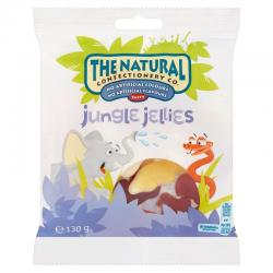 The Natural Confectionery Co. Jungle Jellies (130g)