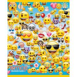 Emoji Party Bags - Plastic Loot Bags (8pk)