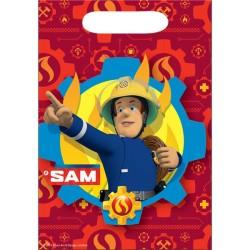 Fireman Sam - Plastic Lootbag (8pk)