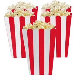 Apple Red Candy Buffet Popcorn Treat Boxes