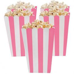 New Pink Candy Buffet Popcorn Treat Boxes