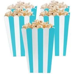 Robin Egg Blue Candy Buffet Popcorn Treat Boxes