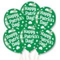 """Happy St. Patrick's Balloons - 11"""" Latex (6pk)"""
