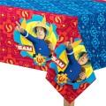 Fireman Sam - Plastic Tablecover 1.2m x 1.8m