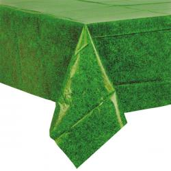 Grass Plastic Tablecover - 1.2m x 1.8m