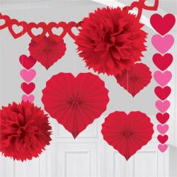 Valentines Paper Decorating Kit