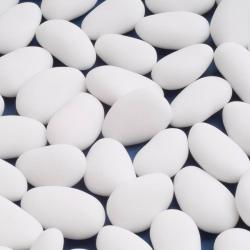 White Luxury Sugared Almonds - 1KG